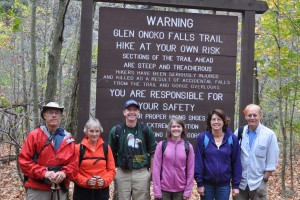 The Faith & Nature Group can include as many as 50 and as few as six, as was the case during an outing at Glen Onoko Falls/Lehigh Valley Gorge State Park.