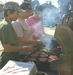 Hamburgers are just one of the many foods served during lunches at the Summer Food Service Program in Columbia.