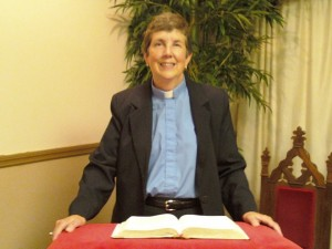 The Rev. Virginia Miner received the Gov. Robert P. Casey Medal for a Lifetime of Service award in early May because of the work she has done at First United PC of Lackawanna Valley.