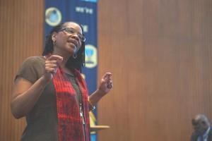"Rev. Denise Mason Bullitt says ""Embracing ecumenism, embracing diversity and inclusivity is a hallmark of who we are."""