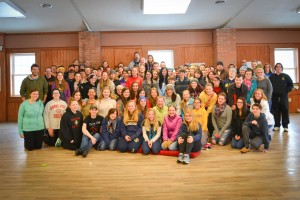 Over 100 youth converged on Crestfield Camp and Conference Center in Slippery Rock for its 30-Hour Famine during the last weekend in February.
