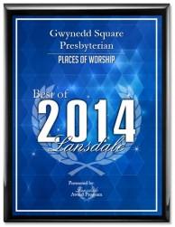 Gwynedd Square Award 2014