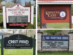 regional signs