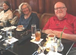 Teaching Elder Dianne Kareha, Stated Clerk Marsha Heimann & Teaching Elder Commissioner Don Brown - Lehigh Presbytery