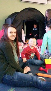 HL Vine Community Centre Mums & Tots (Little Sparks) sensory play day