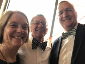 Ralph with Ginny & Don Dawson