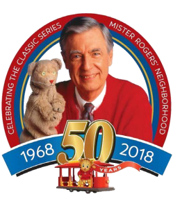 Mr. Rogers transparent