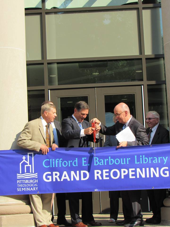 Pittsburgh Seminary Unveils Renovated Barbour Library Synod Of The Trinity