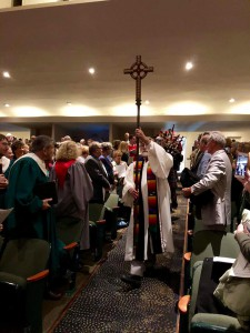 Joint Worship Service - Procession